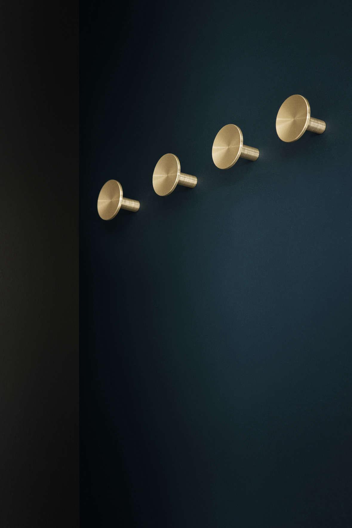 ArtisanDesigned Light Fixtures and Hardware from Copenhagen KBH brass knob remodelista