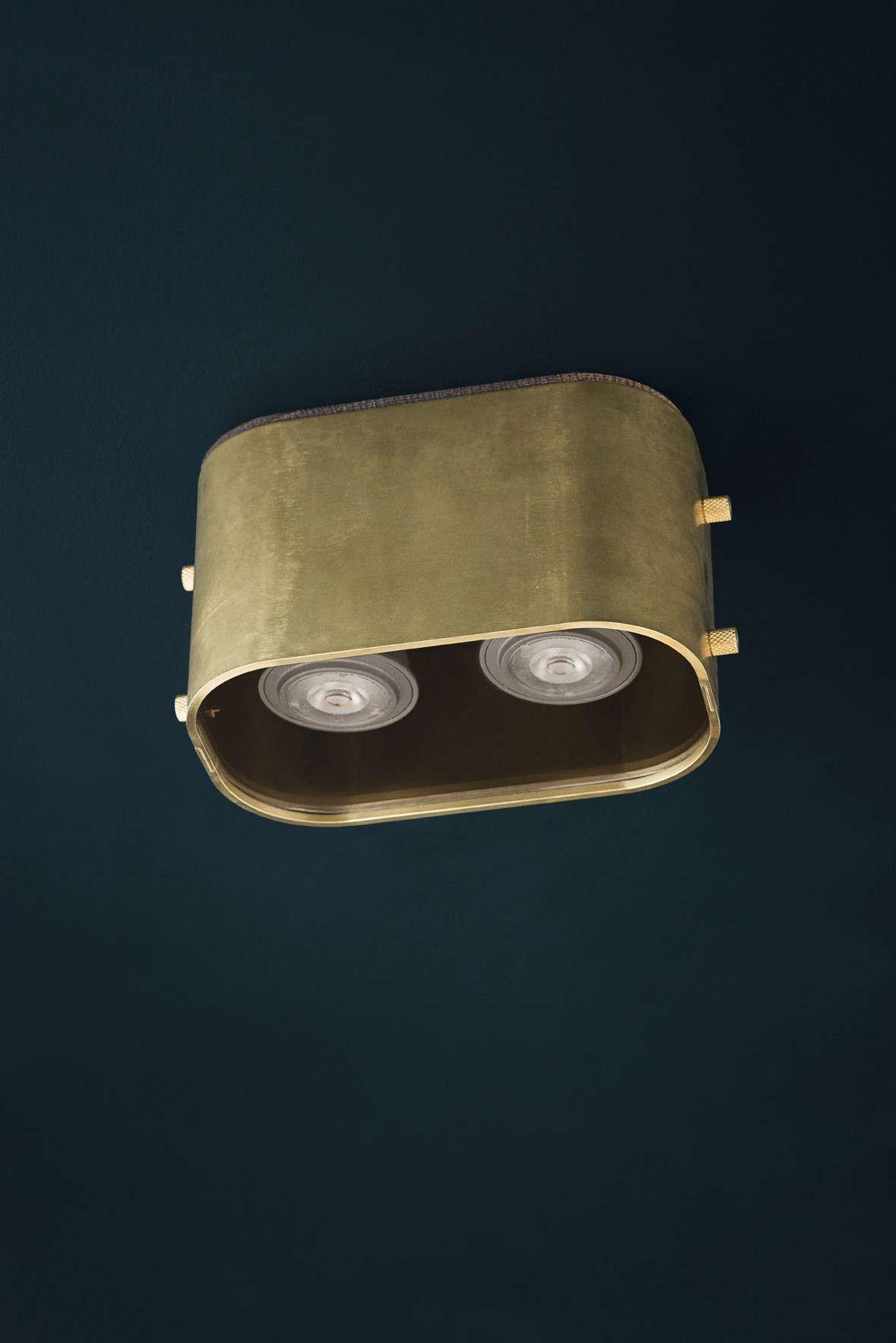 ArtisanDesigned Light Fixtures and Hardware from Copenhagen KBH brass spotlight remodelista