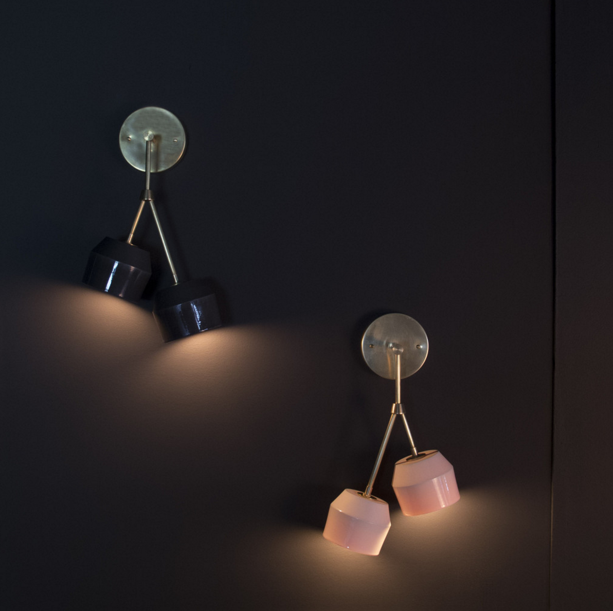 Forchette Sconces by Materia Designs | Remodelista