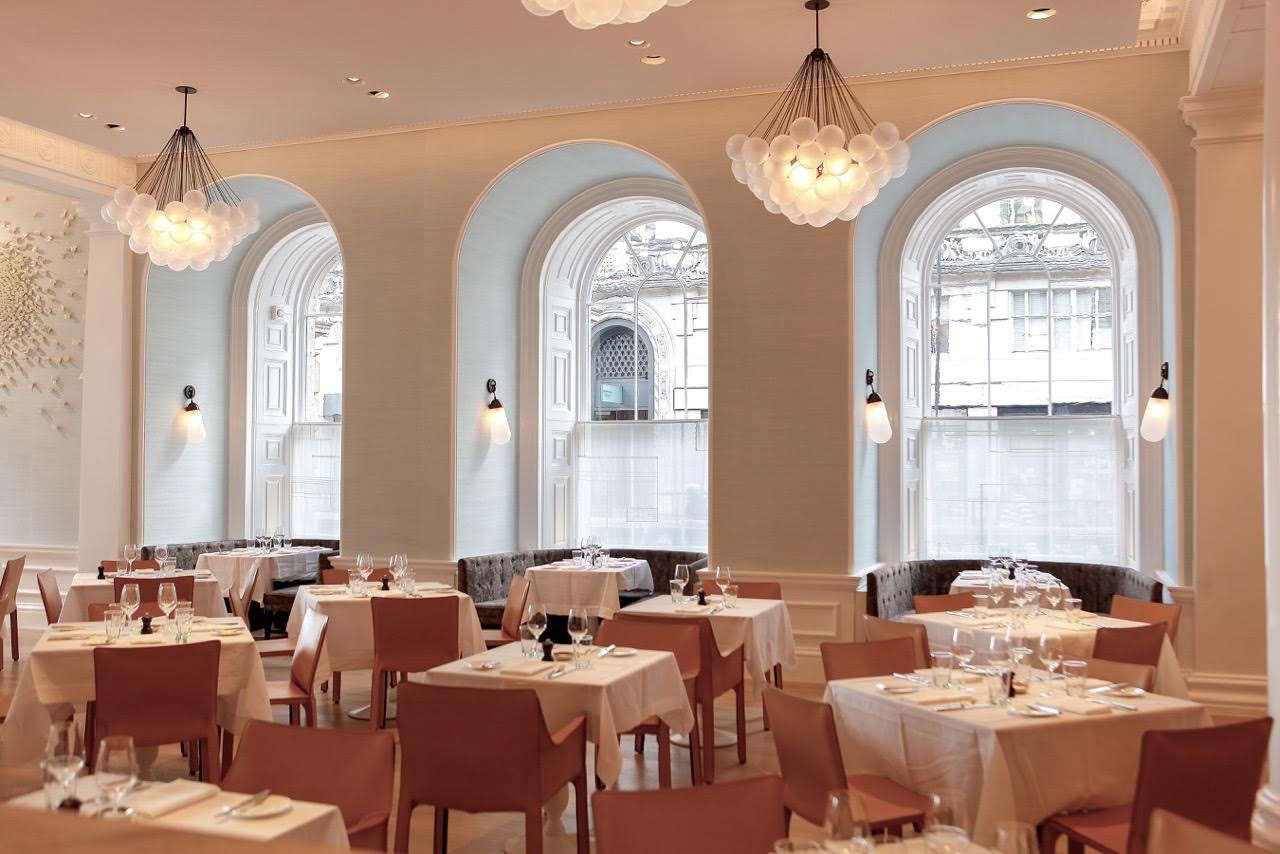 nest curtains by lucy bathurst spring restaurant remodelista 10 10