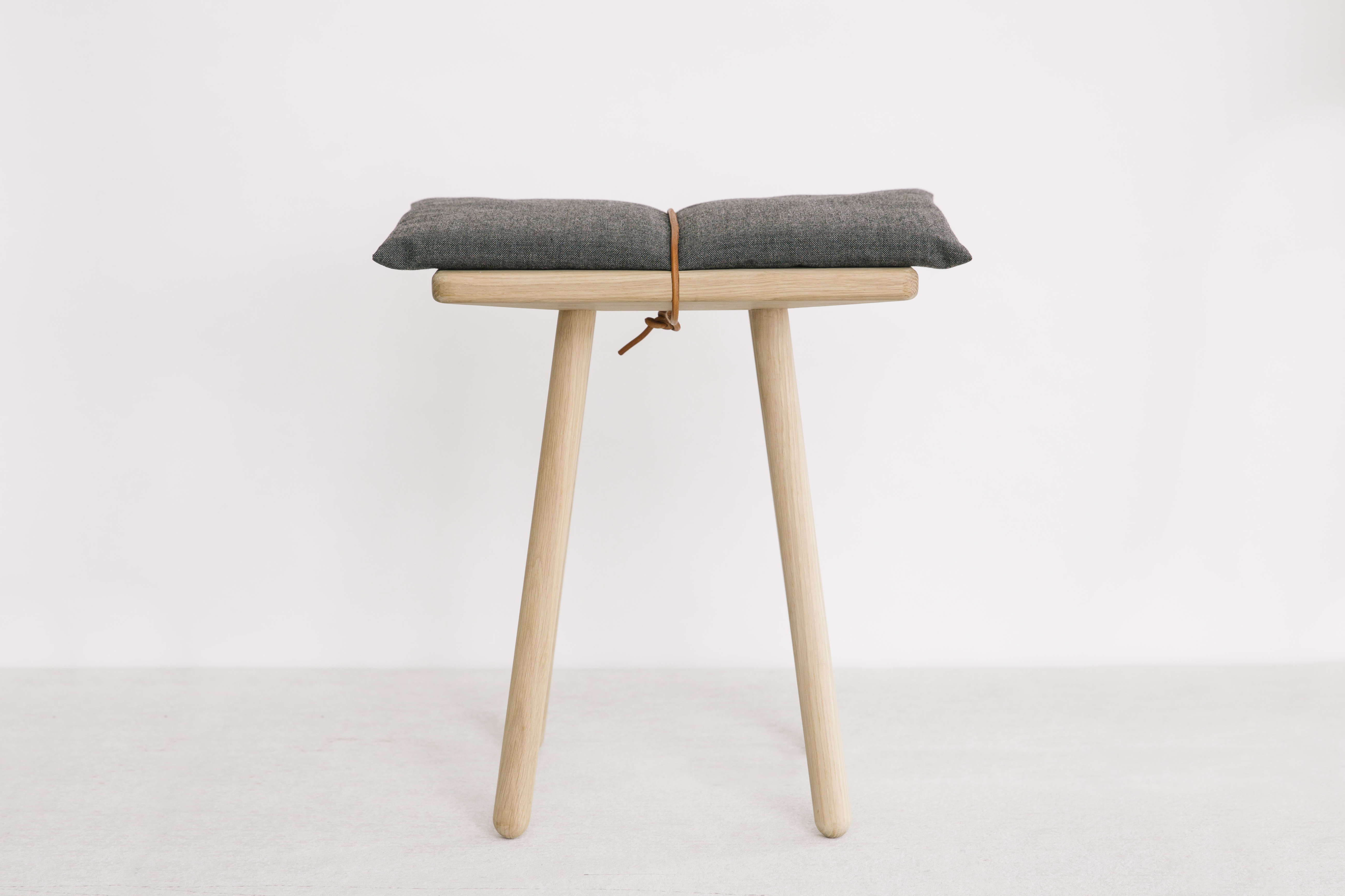 Padded stool from Set and Co. in Dallas| Remodelista