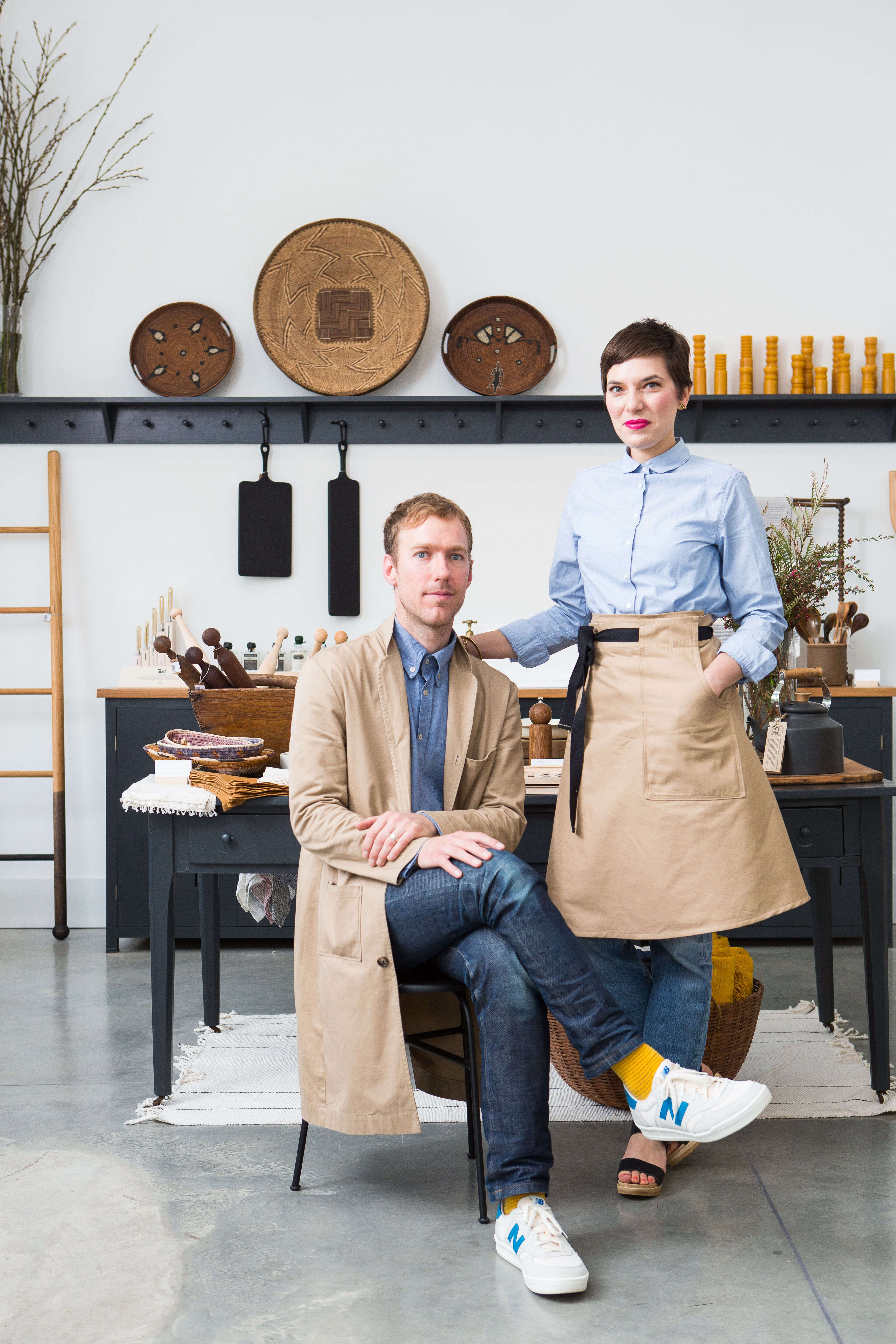 Adam and Jenifer Littke of Set and Co. Dallas | Remodelista