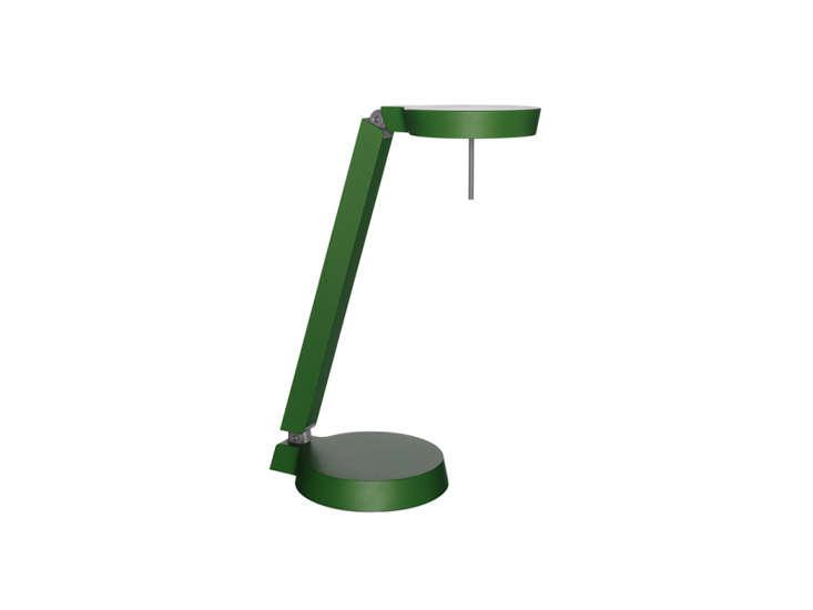 claesson koivisto rune&#8\2\17;s w08\1t\1 \1 arm task lamp in green; \$675  19