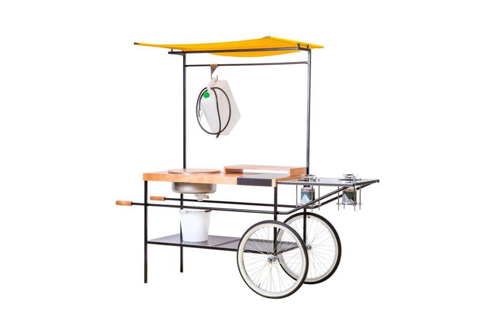 Conran Momang Outdoor Kitchen on Wheels