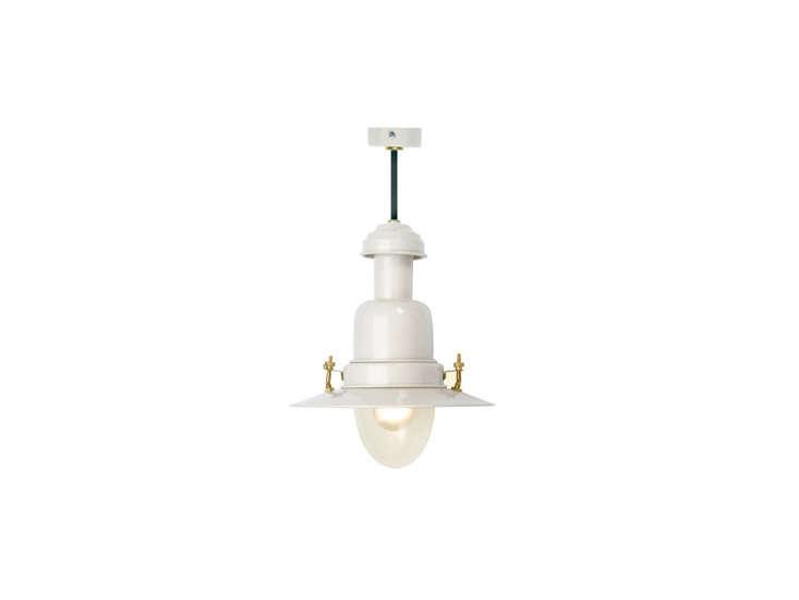 fishing pendant light in white 17