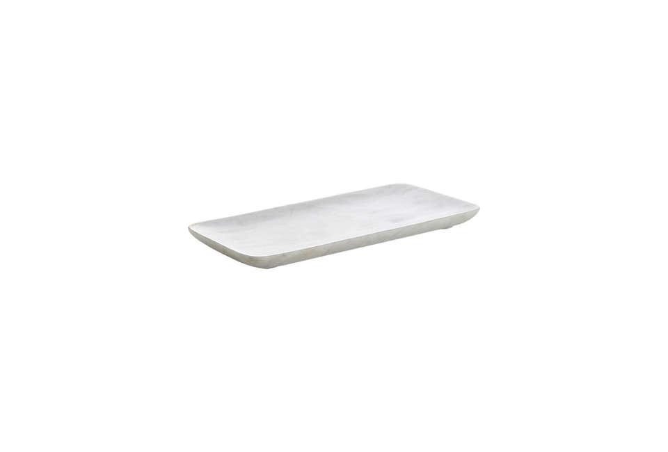cb2 marble tray 24