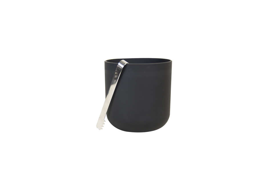 Sugahara Matte Black Ice Bucket
