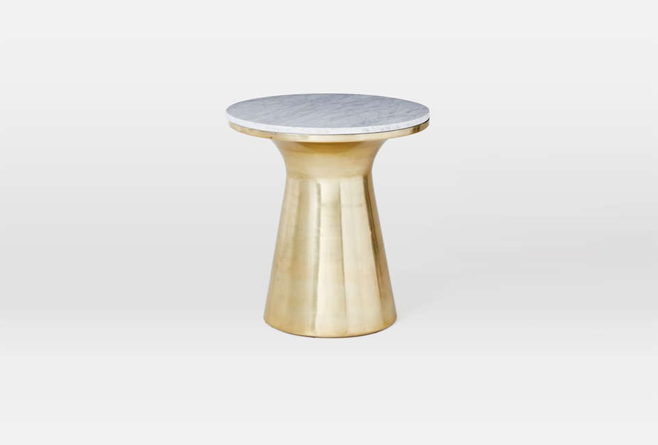 West Elm Marble Topped Table