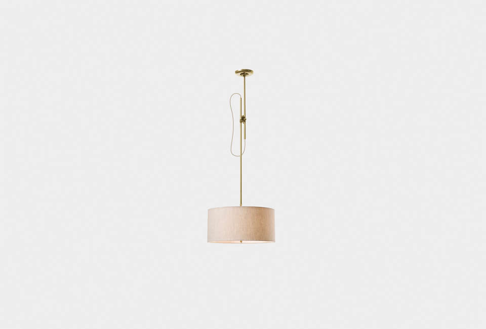 Workstead Shaded Ceiling Lamp