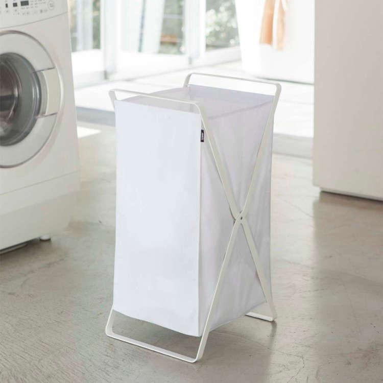 Genius LowCost Storage Solutions from Japan Yamazaki Tower Laundry Basket