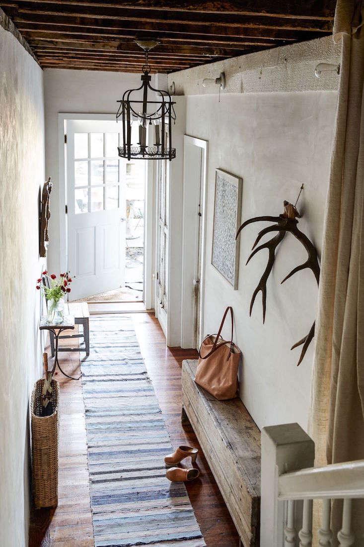Hudson home_red chair_hallway_Marili Forastieri