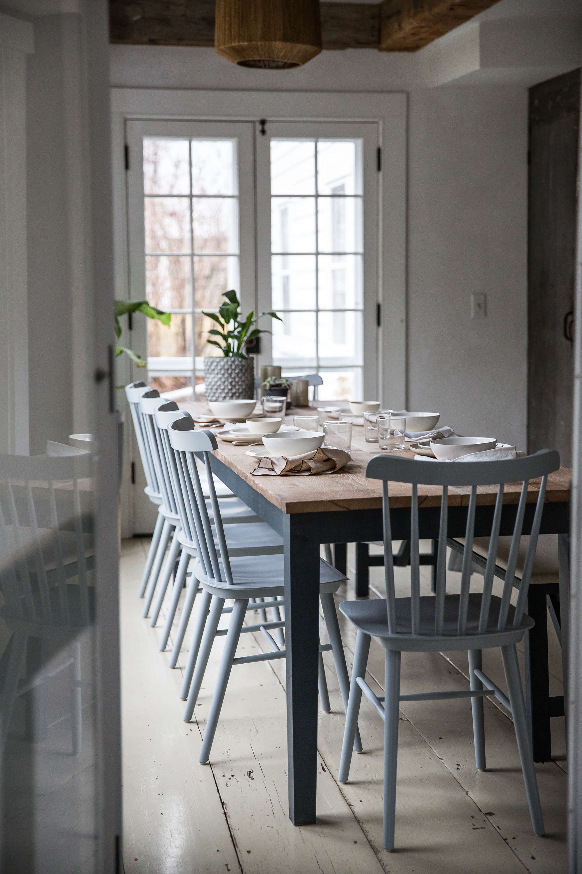 jersey ice cream co. old chatham house, remodelista, dining table 14