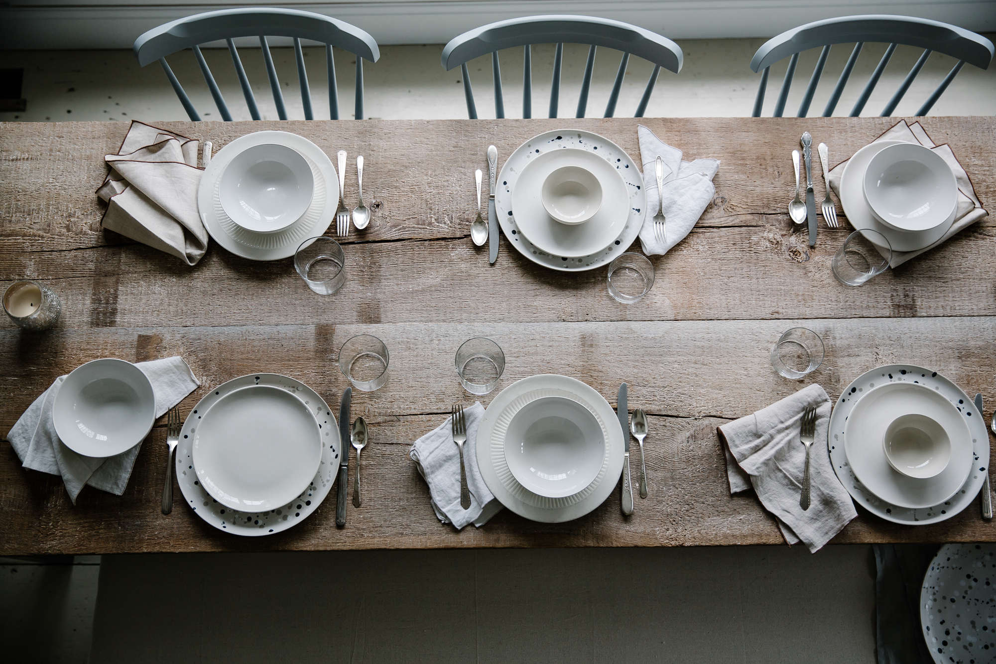 jersey ice cream co. old chatham house, remodelista, table setting 15