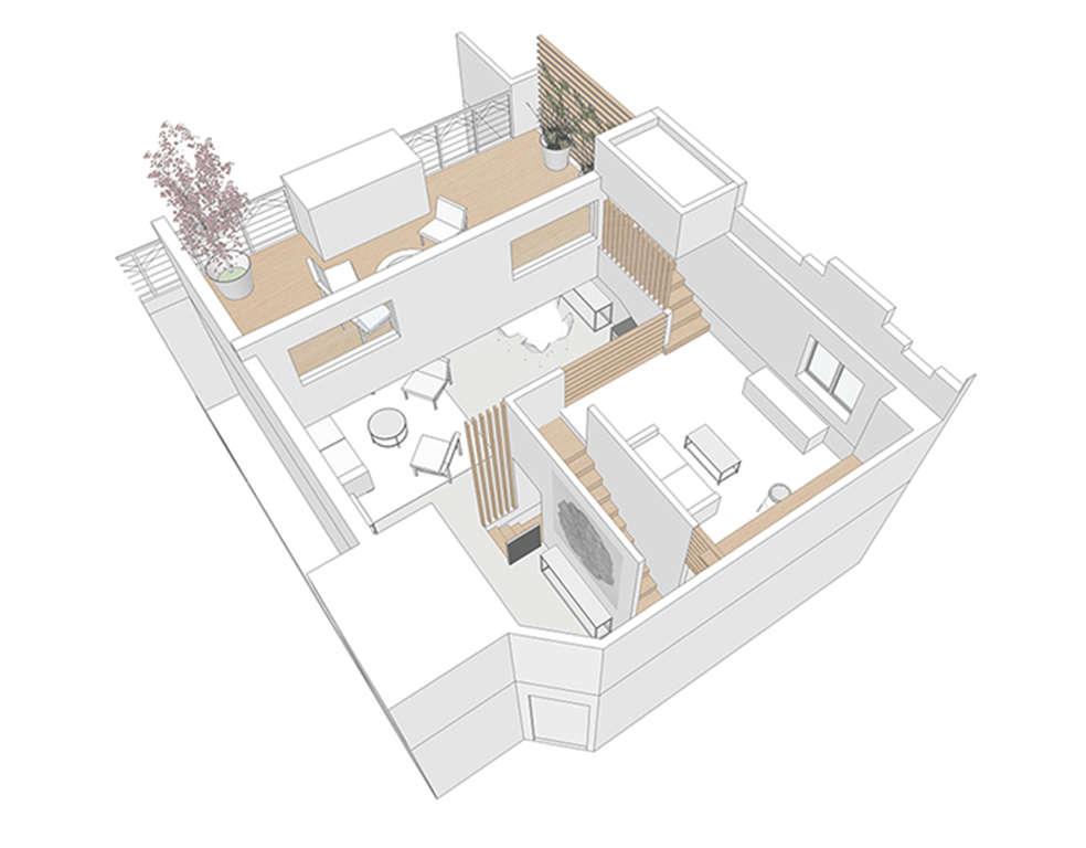 Loft Rental Kitchen in LA by Oonagh Ryan Architects | Remodelista
