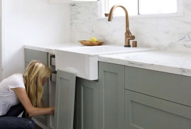 Expert Advice 23 Genius Reversible BudgetFriendly Hacks to Transform a Rental Apartment If you know your cabinets are Ikea, and if you&#8\2\17;re planning on being in your apartment for the long haul, consider investing in custom cabinet fronts that fit onto Ikea boxes. SeeIkea Kitchen Upgrade: 8 Custom Cabinet Companies for the Ultimate Kitchen Hack for a few of our favorites. Photograph from Ikea Upgrade: The SemiHandmade Kitchen Remodel.