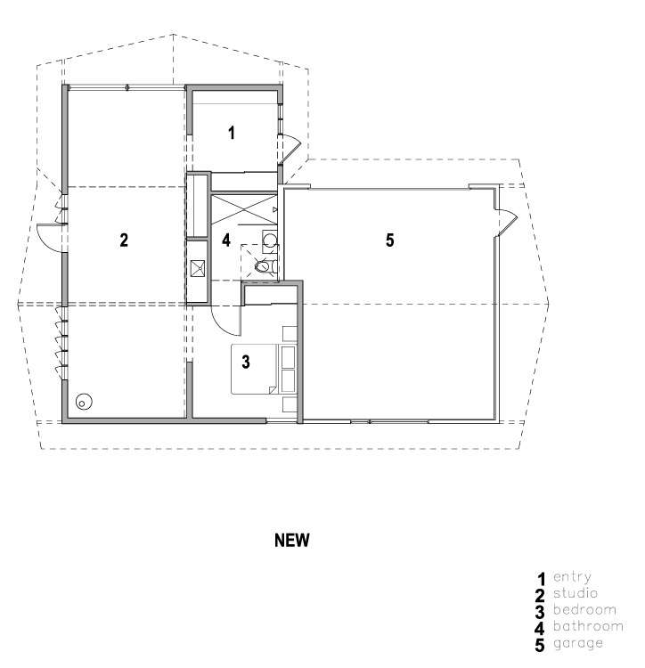 stable conversion floor plan shed architects remodelista 1 23