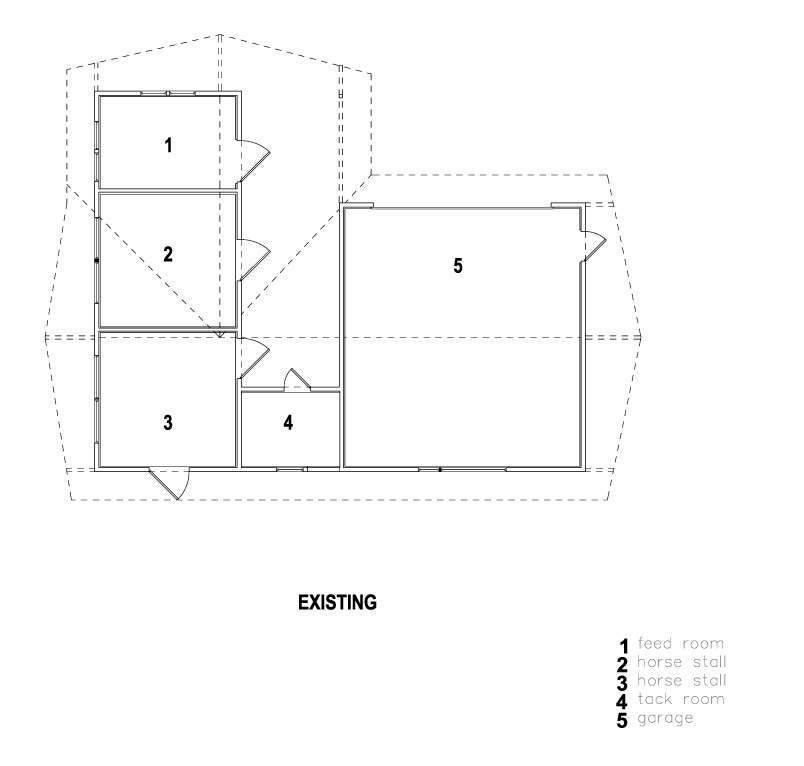 stable conversion floor plan shed architects remodelista 2 22
