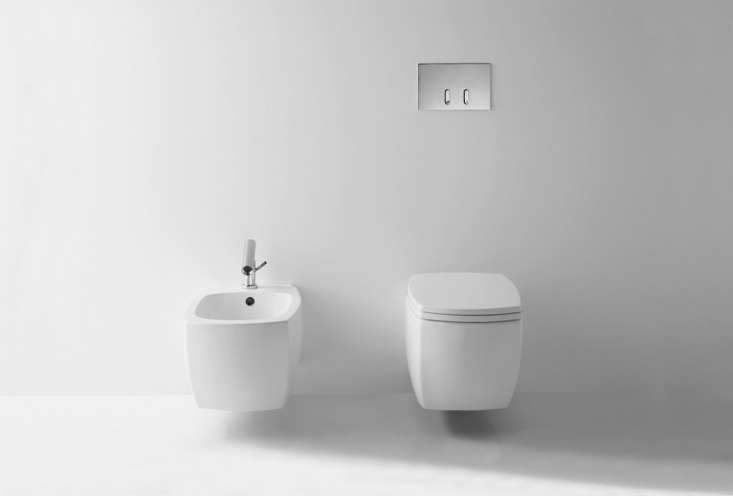 Designed by Benedini Associati, the750 Wall-Mounted Toiletis available through Agape bycontacting them directly.