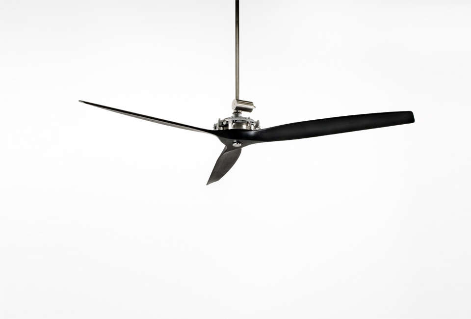 designed by giulio gianturco for boffi, the air fan is available with varnished 13