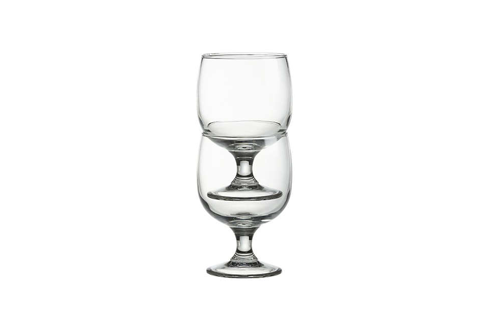 Crate & Barrel Eddy 11 Drinking Glasses