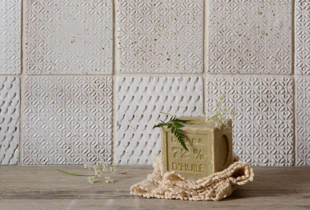 Subtle Printed Tiles from a UK Kitchen Upstart devol tiles remodelista 1