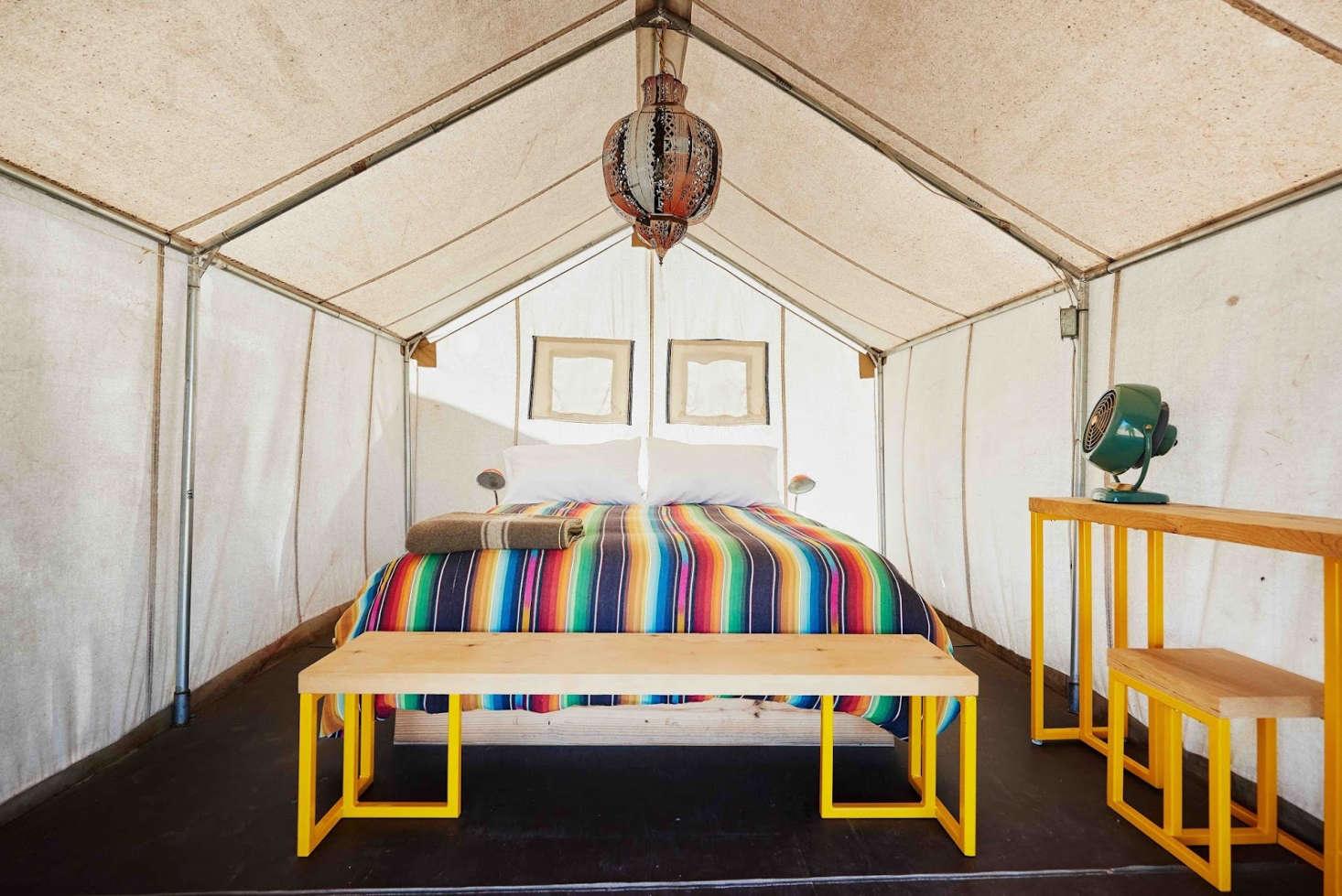 El Cosmico Outdoor Sleeping Tent