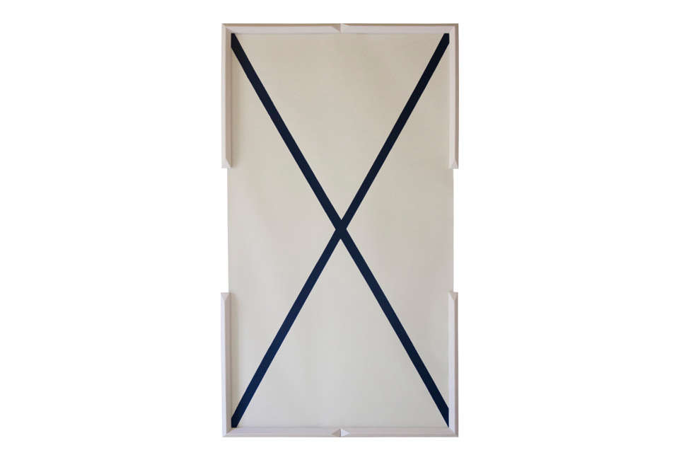 x wallpaper in a jesmonite frame, a mineral composite in acrylic resin. 13