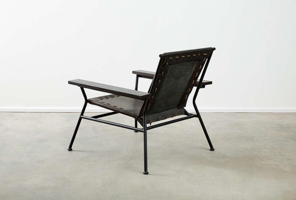 Garza Marfa Saddle Leather Arm Chair