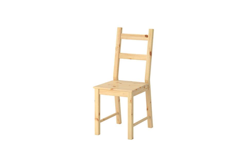 ikea ivar unfinished wood chair 15