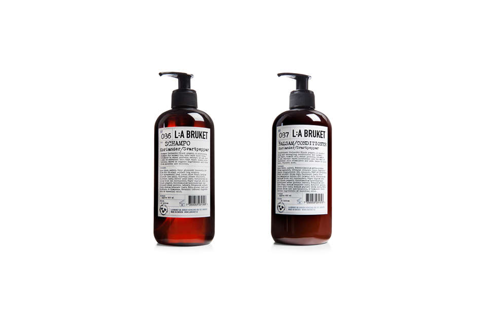 L:A Bruket Shampoo and Conditioner