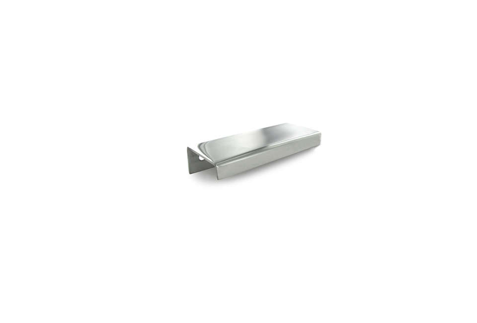 10 Easy Pieces Silver Finish Edge Pulls Linea Polished Edge Pull