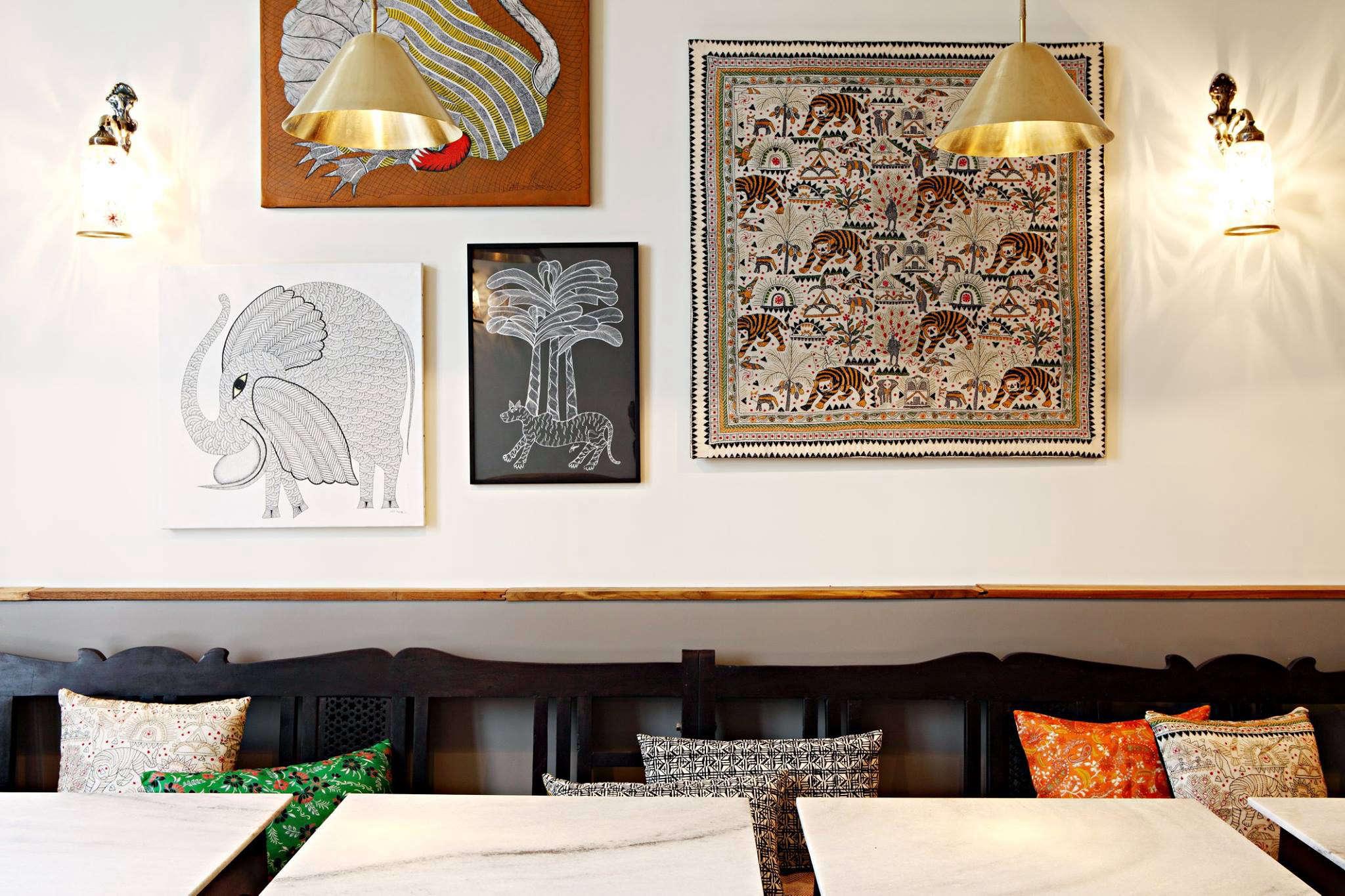 mg road indian restaurant in paris 14