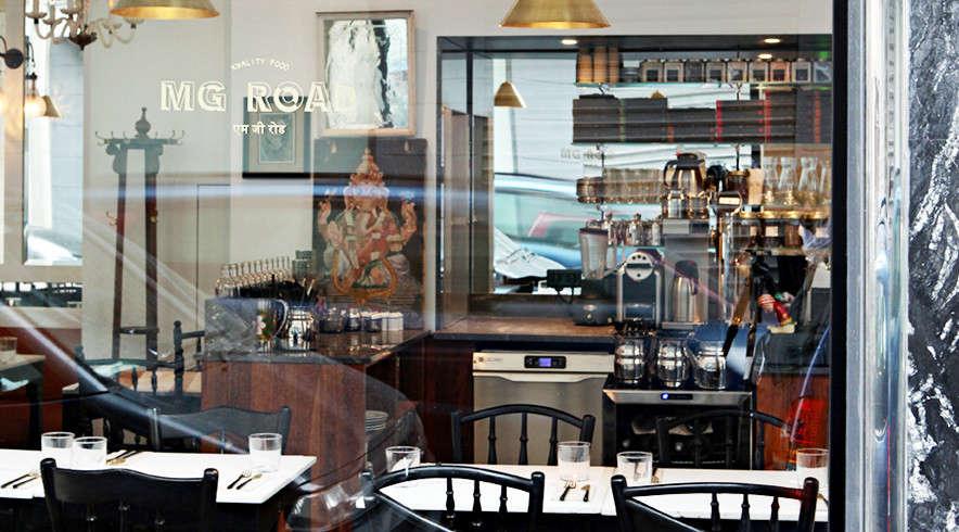 mg road indian restaurant in paris 16