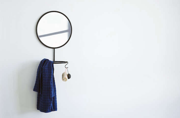 Stylish Storage Solutions from Copenhagen nomess mirror remodelista