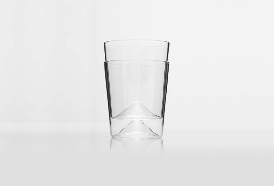 Rien Drinking Glasses from New Tendency