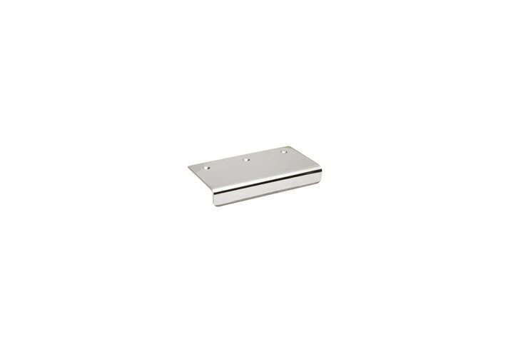 10 Easy Pieces Silver Finish Edge Pulls Sugatsune Stainless Pulls