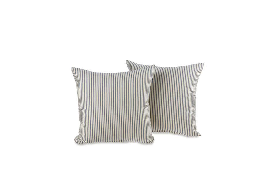 ticking stripe throw pillows 24
