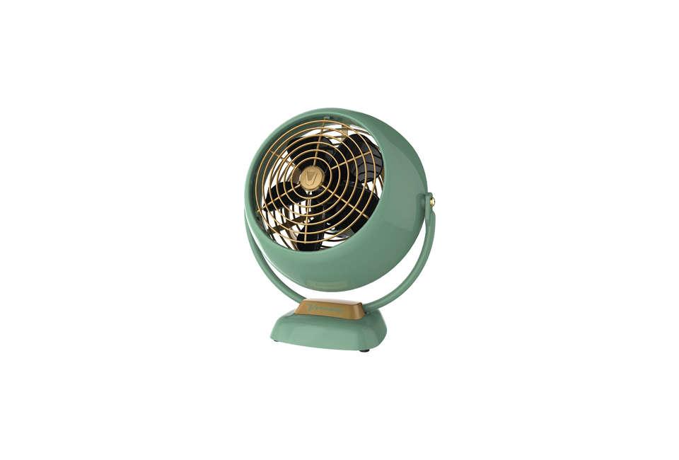 Vornado VFAN Jr. Vintage Table Fan in Green