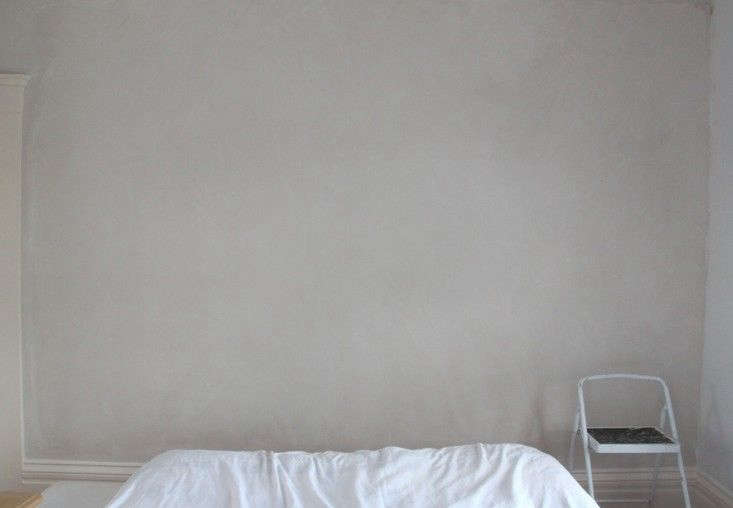 Photograph fromDIY Project: Limewashed Walls for Modern Times.