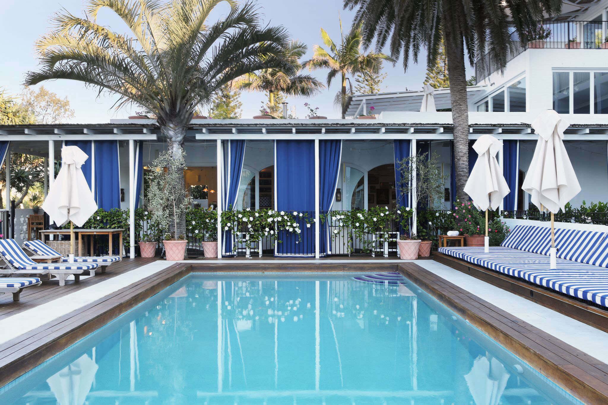 The pool at Halcyon House, a boutique hotel in Cabarita Beach, Australia, Rhiannon Taylor photo | Remodelista