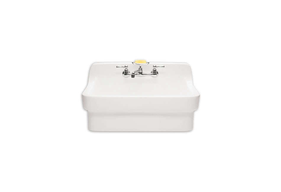 all purpose wall mounted sink 12