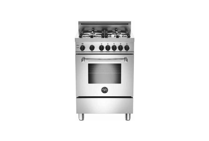 The Bertazzoni Professional Series -Inch Pro-Style Gas Range; $
