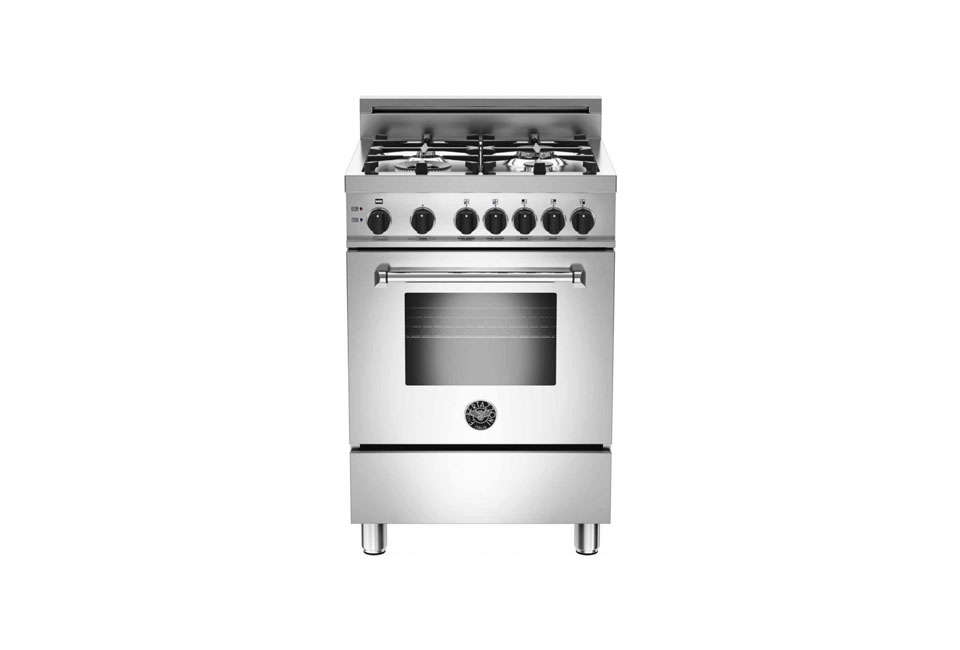 Steal This Look Smart Storage in a Swedish Kitchen TheBertazzoni Professional Series \24 Inch Gas Range is \$\2,099 at AJ Madison. (We also featured the rangein our post \10 Easy Pieces: Compact Cooking Appliances.)