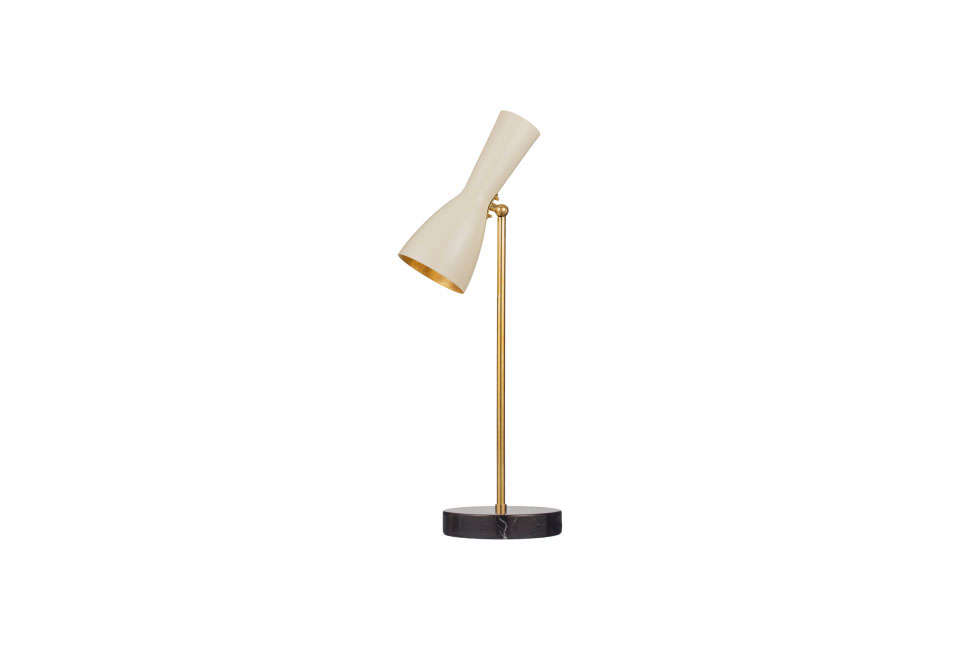 Brass Brother Wormhole Table Lamp