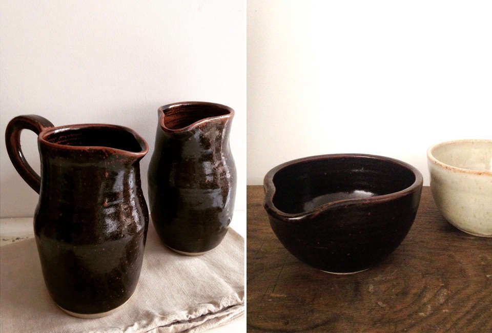 earth pitchers and bowl from vessel & time 9