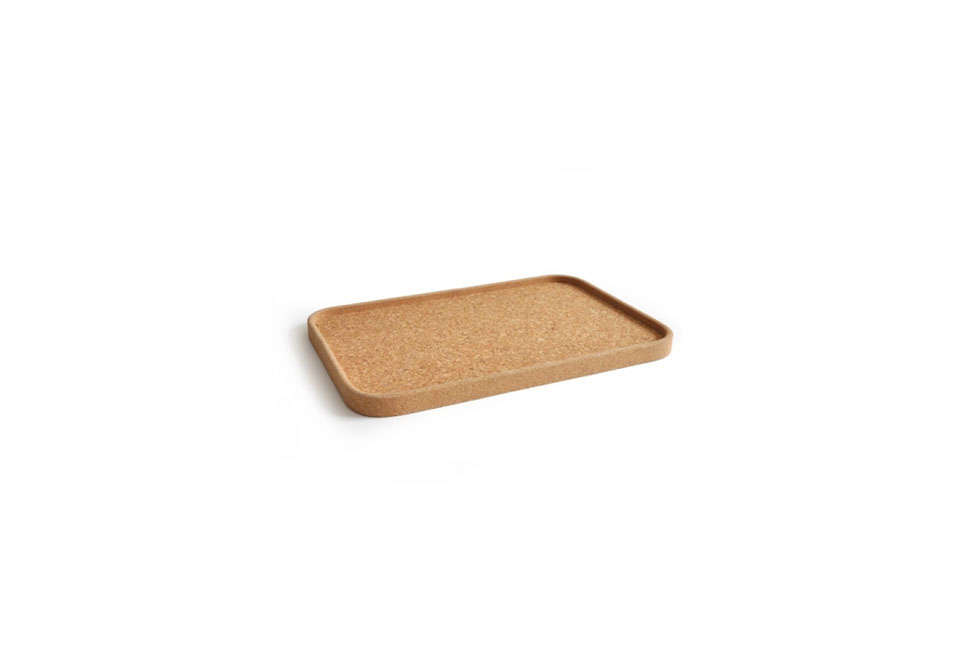 Steal This Look Smart Storage in a Swedish Kitchen TheBambino Cork Tray is€\20 (\$\2\2) at Ekobo Home.