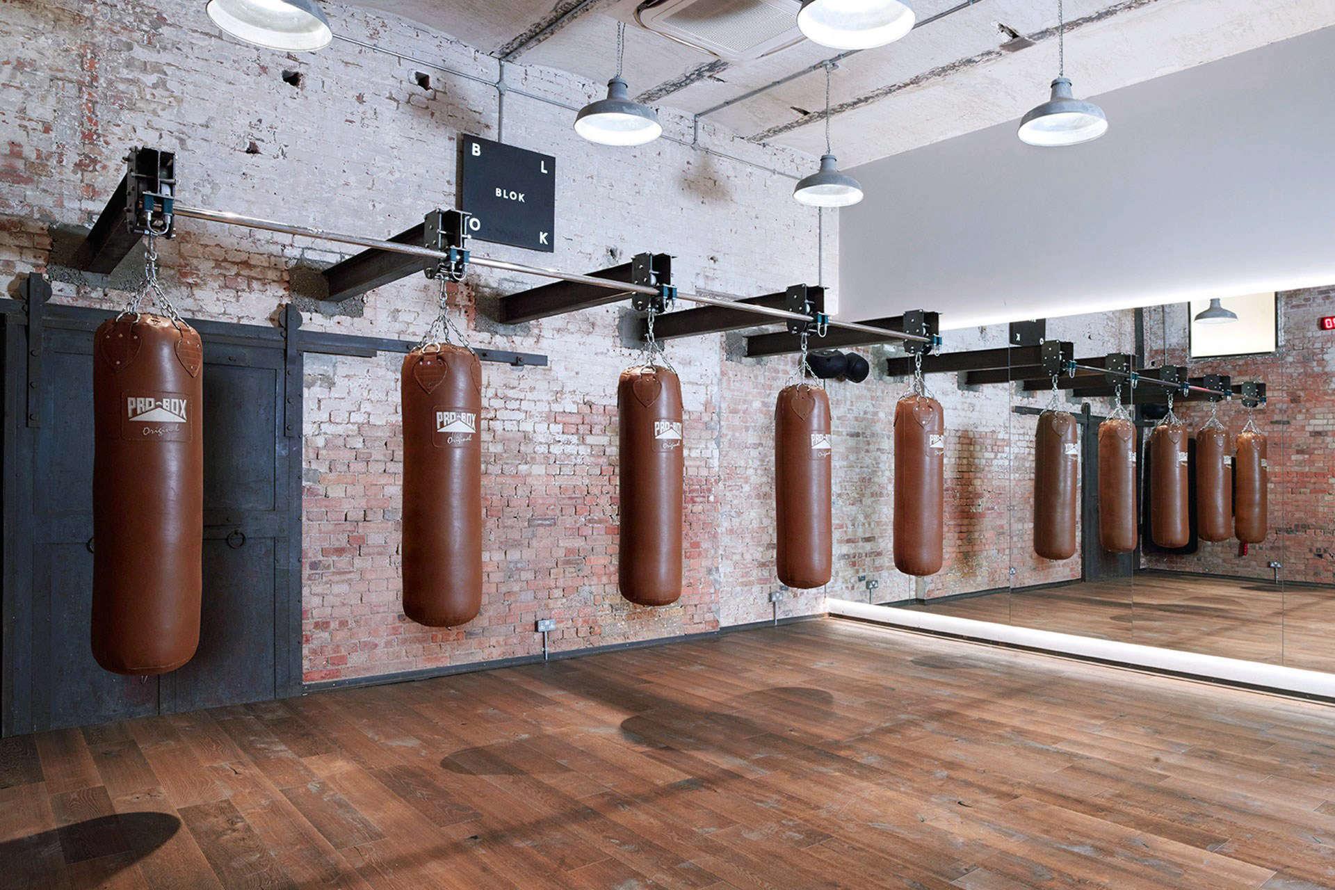 FactoryLux Lighting at Blok Gym in London