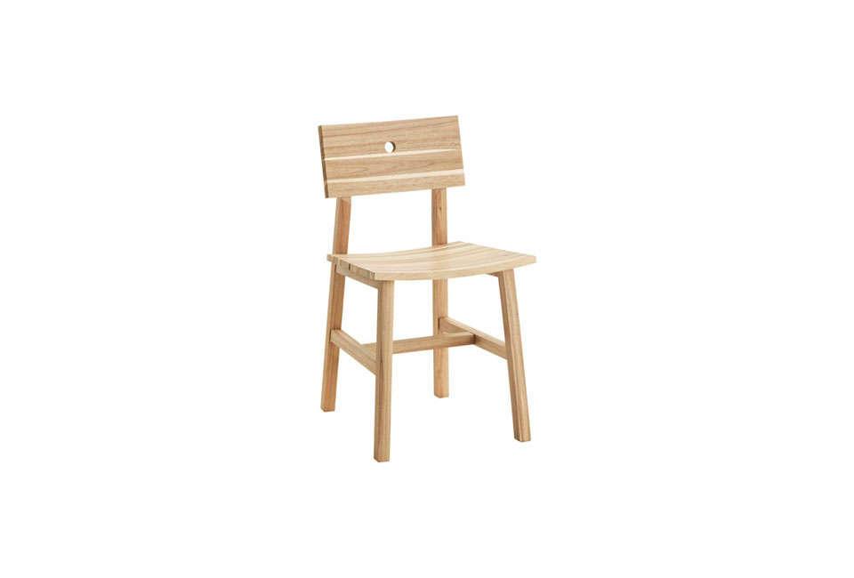 Steal This Look Smart Storage in a Swedish Kitchen Ikea&#8\2\17;sSkogsta Chair in acacia is \$49.