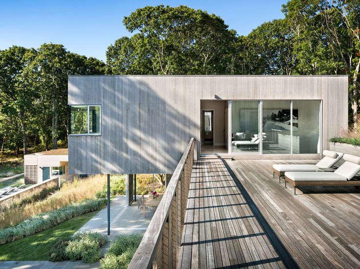 Modern Beach House by Leroy Street Studio | Remodelista