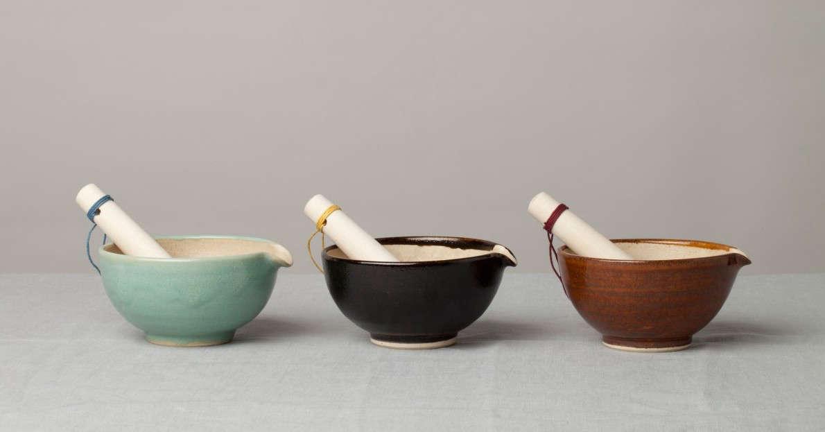 mashiko pestle mortar reiko kaneko color 9